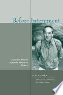 Before Internment