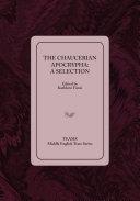 The Chaucerian Apocrypha