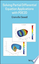 Solving Partial Differential Equation Applications with PDE2D Book