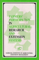 Farmers' Participation in Agricultural Research and Extension Systems