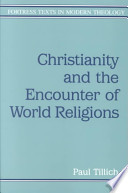 Christianity and the Encounter of World Religions