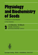 Physiology and Biochemistry of Seeds in Relation to Germination Pdf/ePub eBook