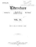 Literature ...