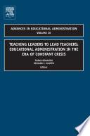 Teaching Leaders To Lead Teachers