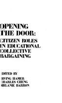 Opening the Door Book