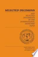 Selected Decisions And Selected Documents Of The International Monetary Fund Epub