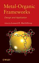 Metal-Organic Frameworks