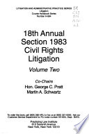 Annual Section 1983 Civil Rights Litigation