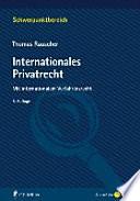 Rauscher, Internationales Privatrecht