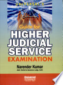 Universal S Guide For Higher Judicial Service Examination
