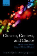 Citizens, Context, and Choice