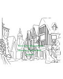 Parry Hotter Magical Places   Characters Coloring Book