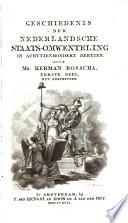 Geschiedenis der Nederlandsche Staats-Omwenteling in achttienhondert dertien