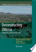 Deconstructing Olduvai A Taphonomic Study Of The Bed I Sites
