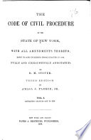 The Code of Civil Procedure of the State of New York