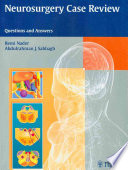 Neurosurgery Case Review Book