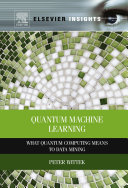 Quantum Machine Learning Pdf/ePub eBook