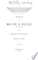 Speeches in Congress on Free Coinage of Silver, 1888-1892