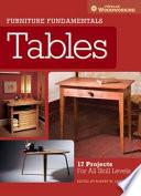 Furniture Fundamentals - Tables