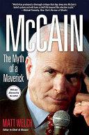 McCain  The Myth of a Maverick Book