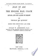 Joan of Arc and The English Mail coach