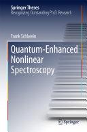Quantum-Enhanced Nonlinear Spectroscopy Pdf/ePub eBook