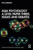 AQA Psychology A Level Paper Three  Issues and Debates