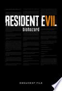 Resident Evil 7 Biohazard Document File