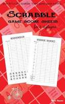 Scrabble Game Score Sheets for 2 4 Players Book