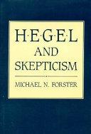 Hegel and Skepticism