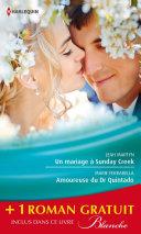Pdf Un mariage à Sunday Creek - Amoureuse du Dr Quintado - Un cadeau pour le Dr Patterson Telecharger
