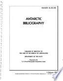 Antarctic Bibliography