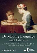 Developing Language and Literacy