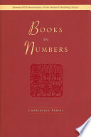 Books in Numbers Book