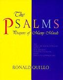 The Psalms  Prayers of Many Moods