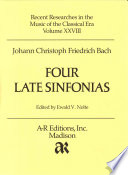 Four late sinfonias