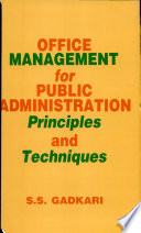 Office Management For Public Administration