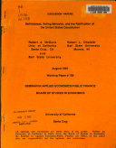 Self interest  Voting Behavior  and the Ratification of the United States Constitution Book PDF