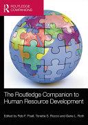 The Routledge Companion to Human Resource Development Pdf/ePub eBook