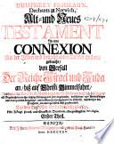 Humphrey Prideau'x ... Alt- und Neues Testament in eine Connexion mit der Jüden und benachbarten Völcker Historie gebracht, etc
