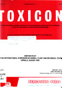Abstracts of the 6th International Symposium on Animal  Plant and Microbial Toxins