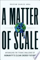 A Matter of Scale Book