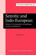 Semitic and Indo European
