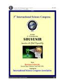 SOUVENIR of 3rd International Science Congress ISC 2013