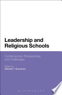 Leadership and Religious Schools  : International Perspectives and Challenges