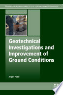 Geotechnical Investigations and Improvement of Ground Conditions Book