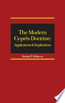 The Modern Cy Pr S Doctrine