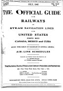 The Official Guide of the Railways and Steam Navigation Lines of the United States, Puerto Rico, Canada, Mexico and Cuba