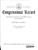 Congressional Record, V. 144, Pt. 5, April 21, 1998 to April 30 1998