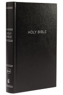 NKJV, Reference Bible, Personal Size Giant Print, Hardcover, Black, Red Letter Edition, Comfort Print